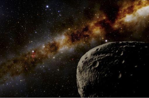 Gigantischer Komet rast auf unser Sonnensystem zu
