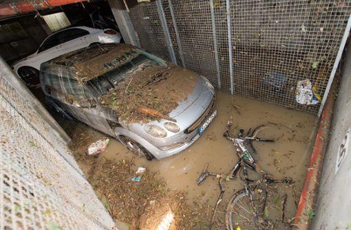 Und dann schwimmt das Auto am Fenster vorbei