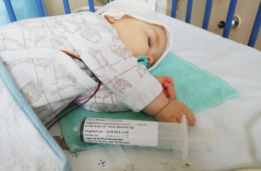 Behandlung für todkranke Babys wird verlost