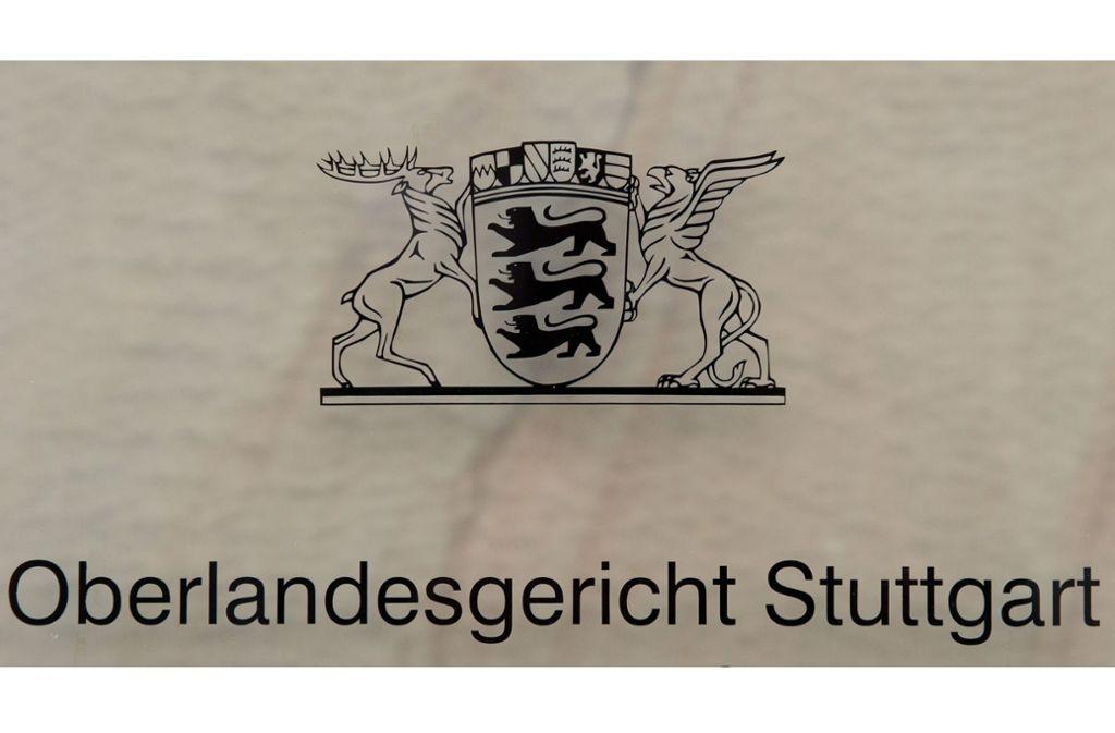 Das Urteil des OLG Stuttgart ist noch nicht rechtskräftig. Foto: dpa