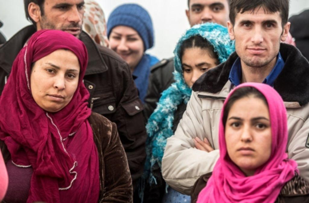 Flüchtlinge sind das Topthema bei der Wahlentscheidung. Foto: dpa