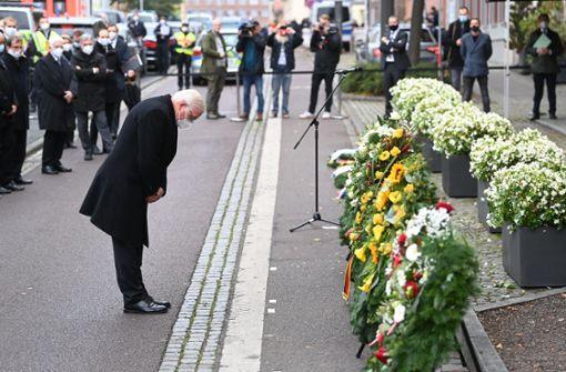 Halle gedenkt der Terror-Opfer