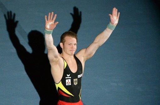 Fabian Hambüchen glänzt mit Platz zwei bei Weltcup-Comeback