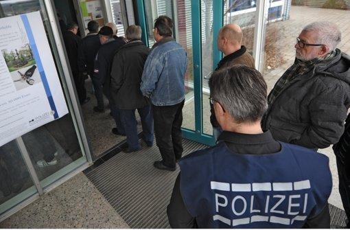 Polizei zufrieden mit DNA-Massentest