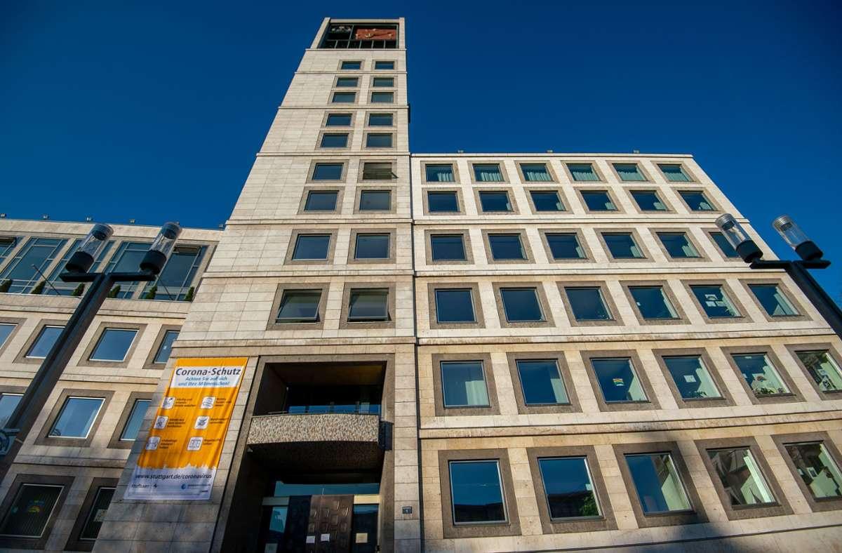 Wer auch immer im ersten Stock  des Stuttgarter Rathauses ab 2021 residiert: Der neue OB oder die neue OB sind mit einer großen Machtfülle und hoher politischer Autorität ausgestattet. Foto: Leif Piechowski
