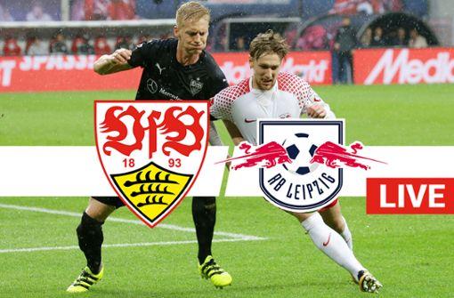 VfB Stuttgart gegen RB Leipzig