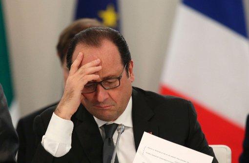 Präsident Hollande tritt nicht für zweite Amtszeit an