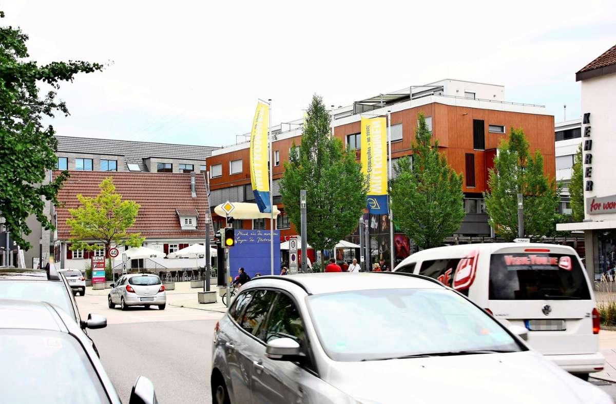 In den Wohngebieten rund um den Echterdinger Zeppelinplatz gibt es   Neuerungen. Entlang der Hauptstraße darf man weiterhin zwei Stunden lang parken. Foto: Archiv  Natalie Kanter