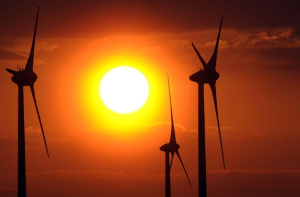 Ohne Windräder ist die Energiewende im Land Foto: dpa