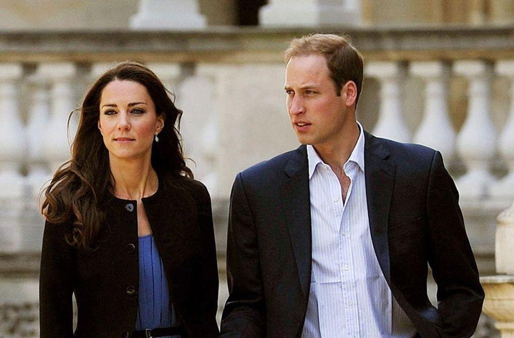 Herzogin Kate und Prinz William haben der verletzen Frau bereits Blumen geschickt. Foto: dpa