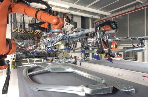 Porsche  und Schuler  bauen  Presswerk