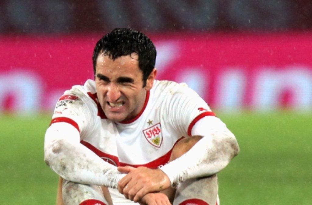 VfB-Verteidiger Cristian Molinaro, ... Foto: Pressefoto Baumann