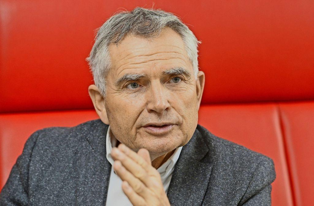 Wolfgang Dietrich will der nächste VfB-Präsident werden. Foto: dpa