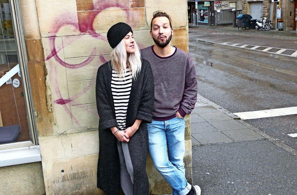 Anna Ruza und Stoff Büttner setzen sich für den Westen ein Foto: Christoph Kutzer