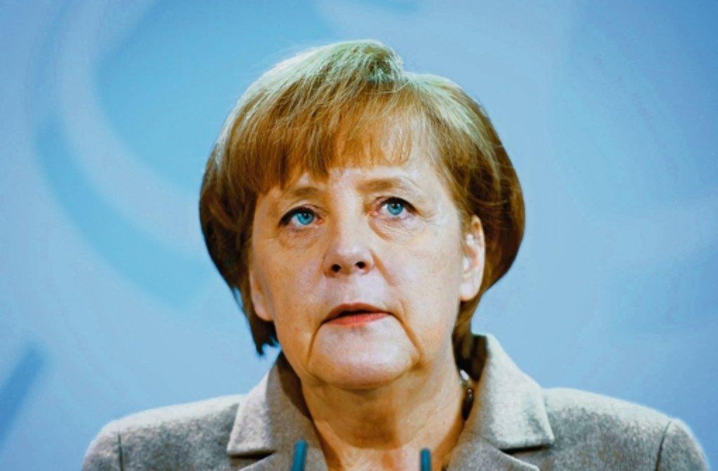 Kanzlerin Angela Merkel wird bei der Einweihung des Bosch-Zentrums in Renningen am 14. Oktober dabei sein. Foto: dapd