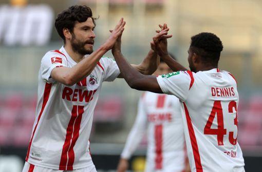 1. FC Köln verhindert weiteren Rückschlag