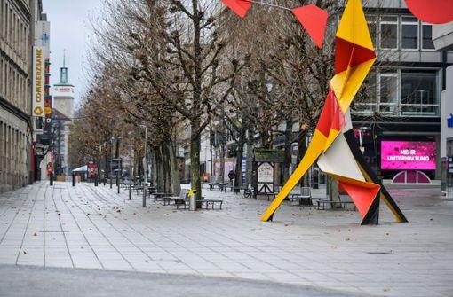 Stuttgarter bewegen sich   Silvester 80 Prozent weniger