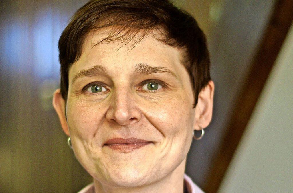 """Evelyn Weis übt ihr Amt """"zu hundert Prozent"""" mit Freude aus. Foto: Leonie Schüler"""