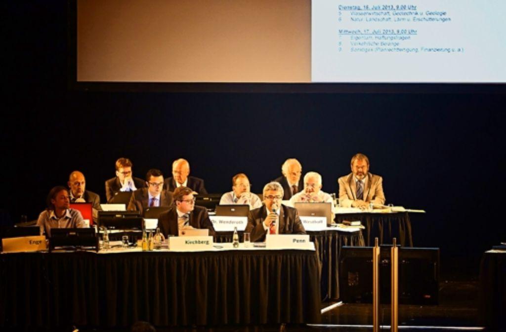 Die Fachleute der Bahn werden nochmals zur Erörterung nach Stuttgart kommen müssen. Foto: Heinz Heiss