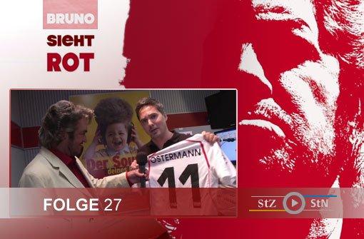 Bruno sieht rot: Der Besuch bei ANTENNE 1