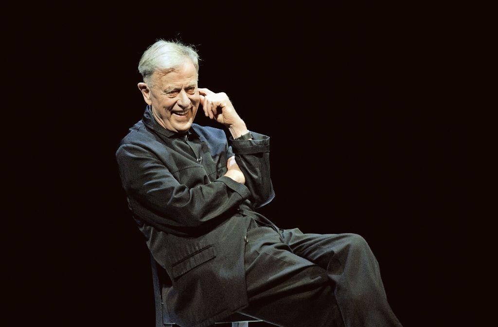 Noch immer frisch, frech und frei: Claus Peymann, der legendäre Stuttgarter Theaterintendant Foto: ullstein bild