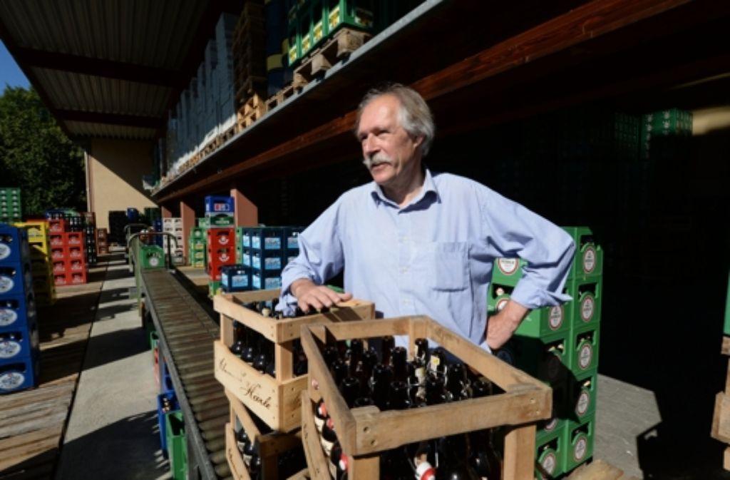 Der Leutkircher Brauereibesitzer Gottfried Härle versteht nicht, warum sein Bier nach 80 Jahren nicht mehr als bekömmlich beworben werden darf. Foto: dpa