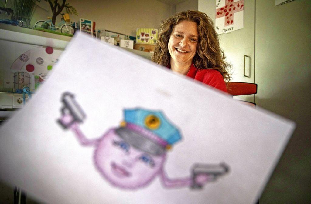 Nina Siegle hat die Geschichte von Bandit Corona geschrieben und illustriert. Foto: Stoppel