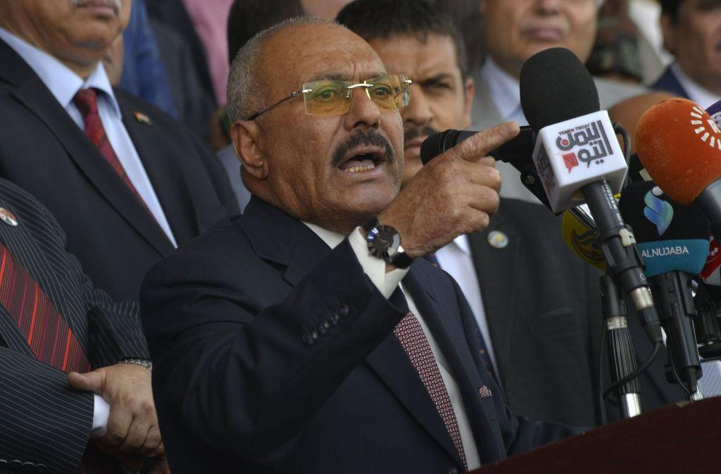 Ex-Präsident Saleh stürzte den Jemen ins Chaos. Doch sein Tod löst die Probleme nicht. Foto: dpa