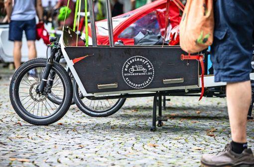 Stadt reduziert Förderung  für Lastenräder