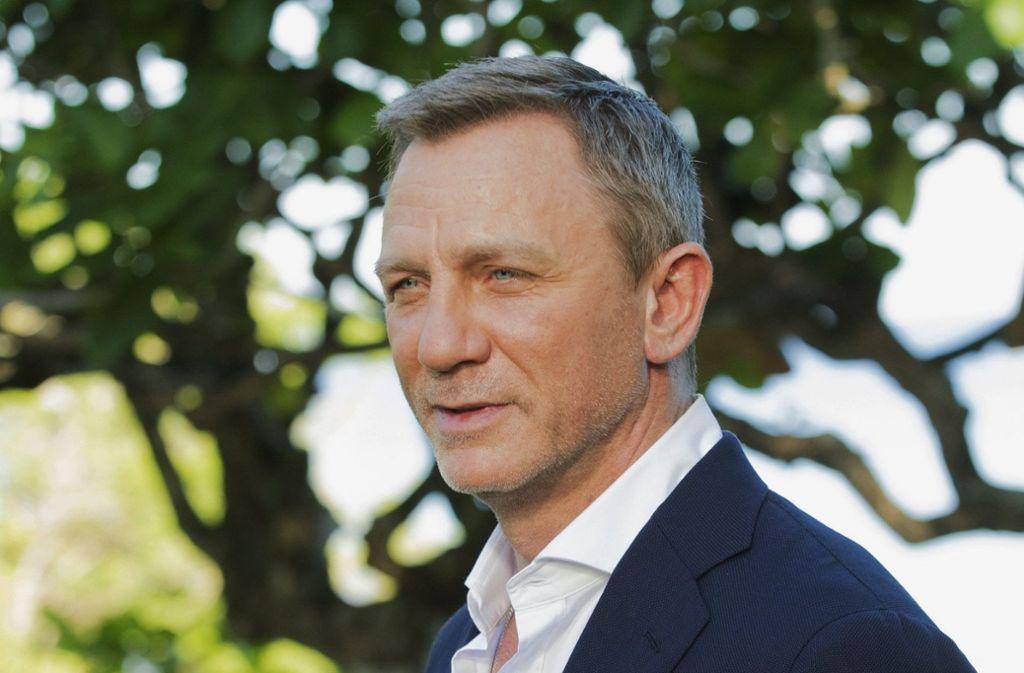 Daniel Craig spielt James Bond vermutlich zum letzten Mal. Foto: dpa/Leo Hudson