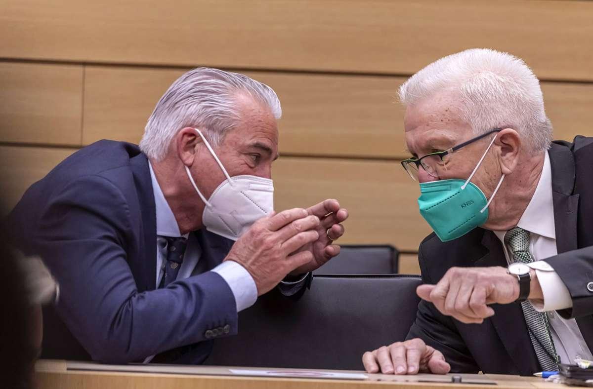 Am 12. Mai will sich der 72-jährige Kretschmann zum dritten Mal zum Regierungschef wählen lassen. Foto: imago images/Arnulf Hettrich