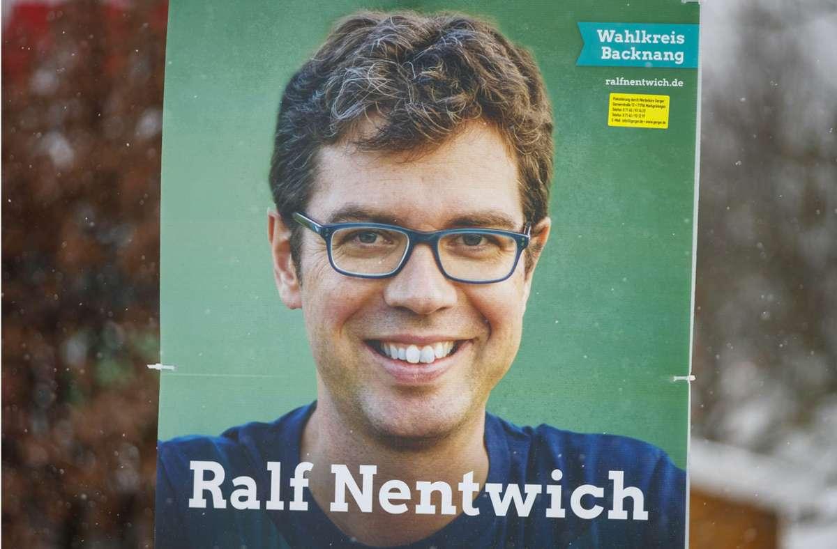 Der Grüne Ralf Nentwich  hat die meisten Stimmen im Wahlkreis Backnang eingefahren. Foto: Gottfried Stoppel