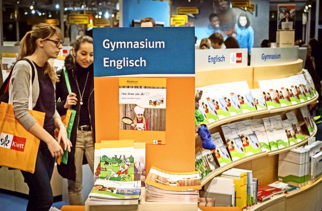 Auf der Didacta finden Pädagogen jede Menge Futter  – auch für leistungsstarke Schüler. Foto: Lichtgut/Achim Zweygarth