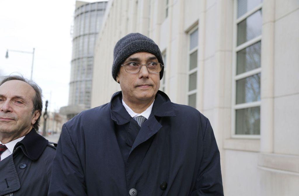 Freispruch im FIFA-Korruptionsskandal für Perus früheren Fußball-Verbandschef Manuel Burga. Foto: AP