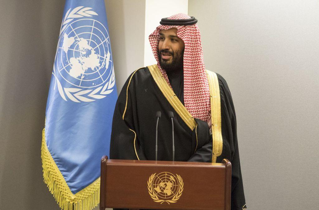 Von Kronprinz Salman hört man neue Töne. Foto: dpa