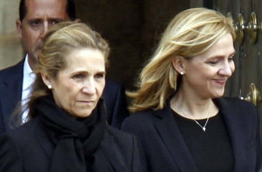 Schwestern von König Felipe VI. vorzeitig im Ausland geimpft