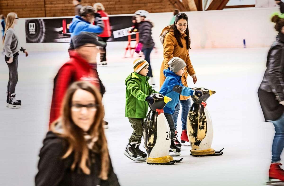Am Freitag öffnet die Eiswelt in Degerloch. Foto: Lichtgut/Julian Rettig