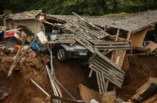 Land unter beim Katastrophenschutz
