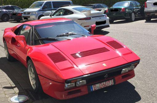Mann verschwindet bei Probefahrt   mit Ferrari