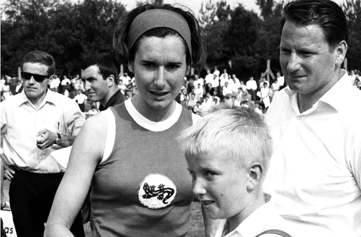 Karin Reichert-Frisch nahm zweimal an Olympischen Spielen teil, nach Tokio auch noch in Mexiko-City. Foto: Archiv/Baumann
