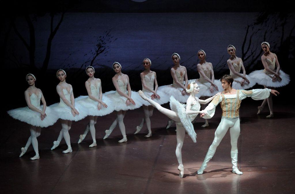 Alicia Amatriain und Friedemann Vogel entfachen ein Drama der Gefühle. Foto: Stuttgarter Ballett