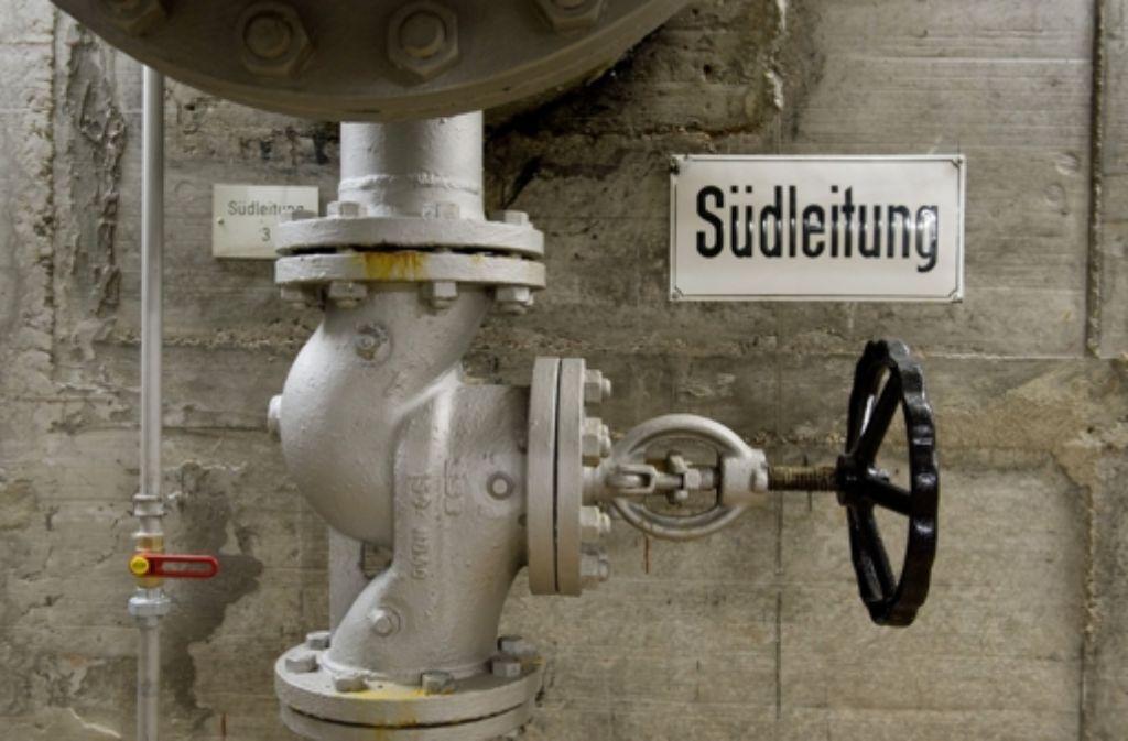 In Stuttgart-Möhringen ist am Mittwoch ein Wasserrohr geborsten. Foto: dpa/Symbolbild