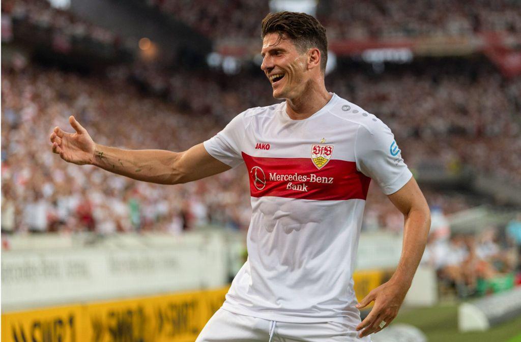 Mario Gomez droht beim VfB Stuttgart auszufallen. Foto: Baumann
