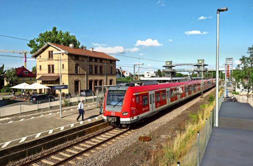 Der Ditzinger  Bahnhof wird  50 Prozent teurer