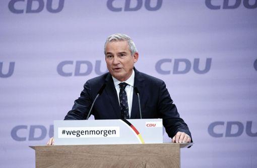 Südwest-CDU sagt Laschet Unterstützung zu