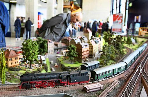 Kleine Züge sorgen für großes Vergnügen