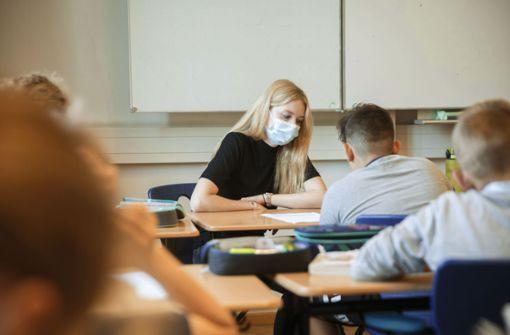 Infektionsfälle in Schulen sind leicht rückläufig