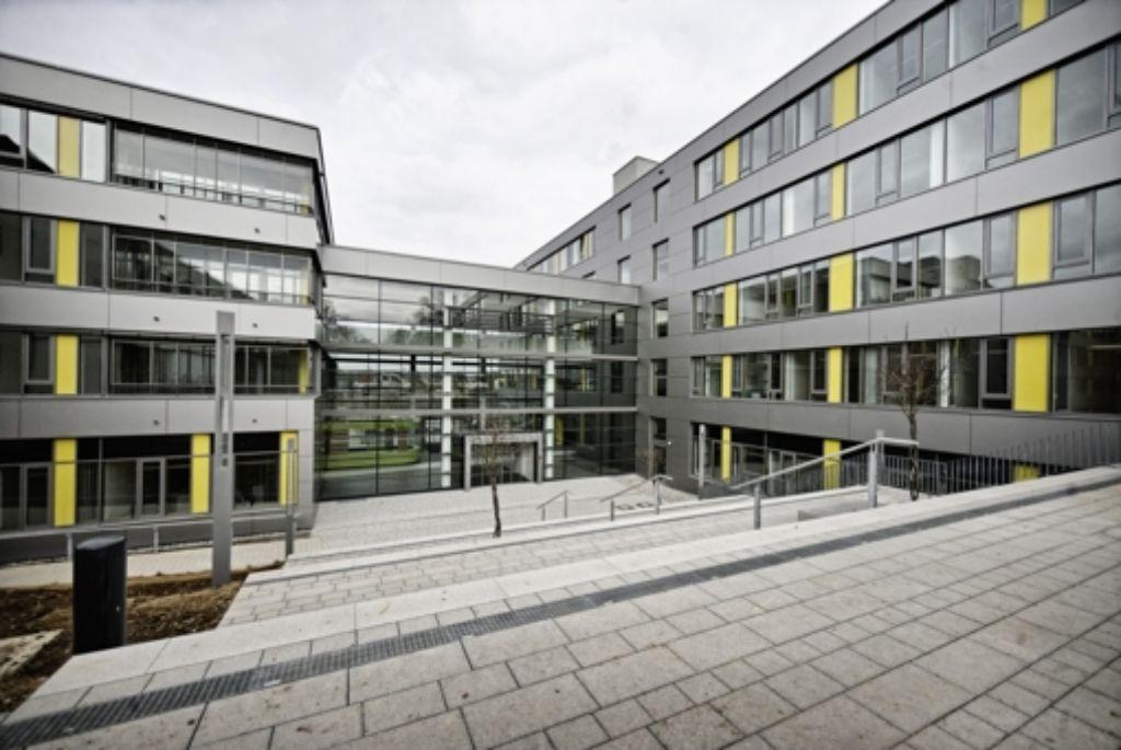 Der Standort in Bad Cannstatt ist modern, hell und großzügig gestaltet. Foto: Heinz Heiss