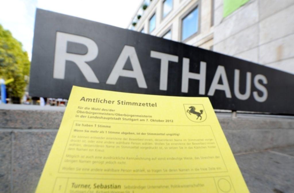 Bis 18 Uhr sind die Wahllokale in Stuttgart geöffnet. Foto: dpa