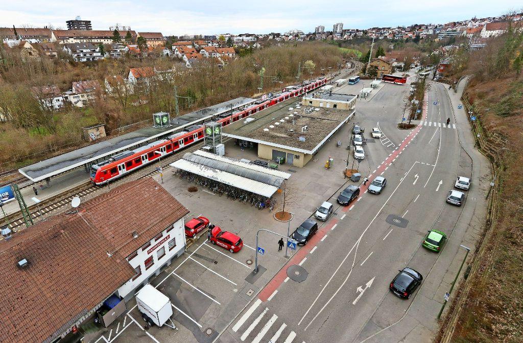 Das erste größere Projekt, mit dem sich die Kommission befasst, ist der Bahnhofsvorplatz. Er soll zum Mobilitätspunkt umgestaltet werden. Foto: factum/Granville